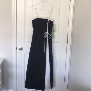 Black & White Ballgown